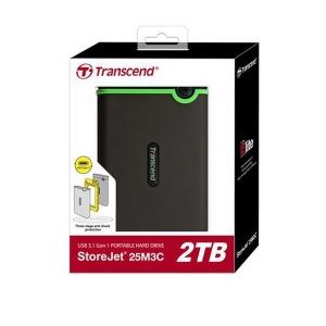 ( C타입 외장하드 ) 트랜센드 StoreJet 25M3C 2TB