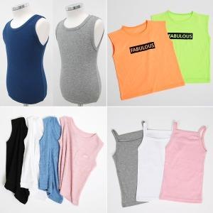 코코바닐라 여름 아동 나시 런닝 끈 티셔츠 여아 롱
