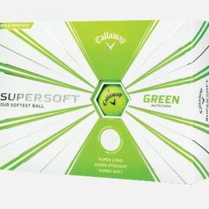 캘러웨이 수퍼소프트 19 볼드 무광 골프볼 컬러 2피스