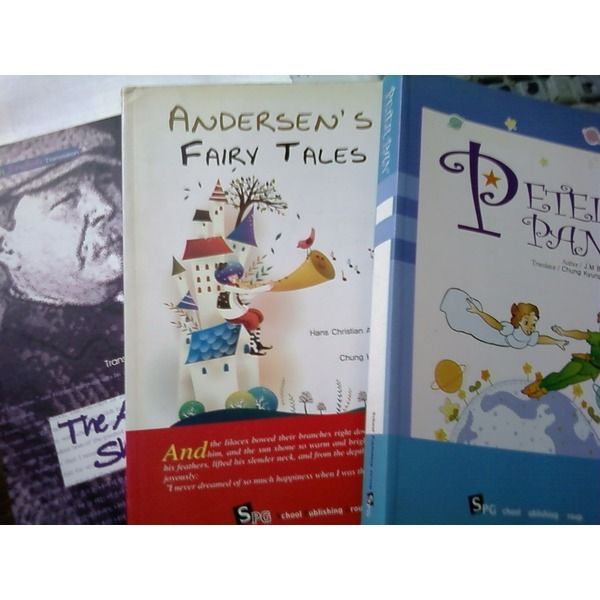 PETER PAN+ANDERSENS FAIRY TALES+THE ADVENTURES OF SHERLOCK HOLMES 세권