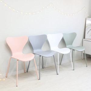 세븐 의자 체어 카페 인테리어 디자인 플라스틱 사출
