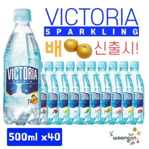 빅토리아 탄산수/음료 500mlx40pet  11종 중 택2