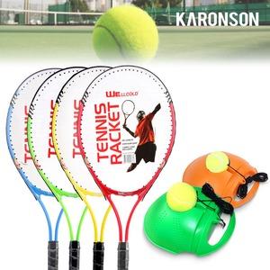 솔로 테니스 라켓 채 혼자 셀프 리턴볼 용품 풀세트