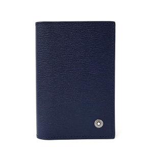 몽블랑  웨스트사이드 명함지갑 118662_Blue