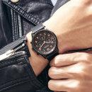 JAH-108 남성시계 손목시계 가죽밴드