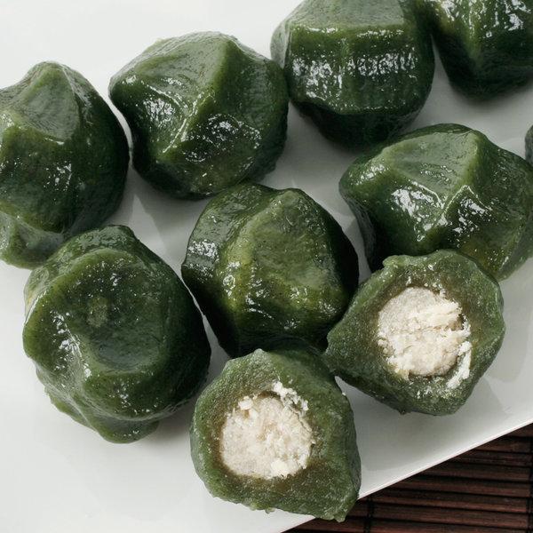 모시(소)송편1kg 국산쌀100%/동부콩소 생송편