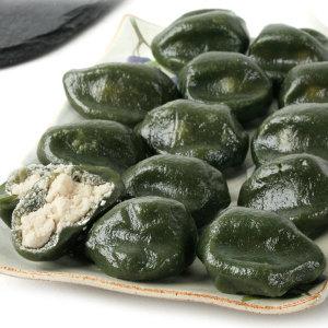모시(대)송편1kg 국산쌀100%/동부콩소 생송편