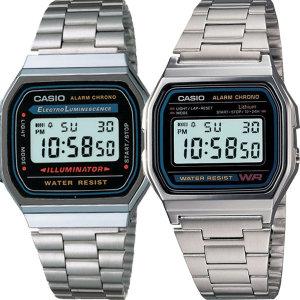 CASIO A158 A168 시리즈 빈티지 손목시계
