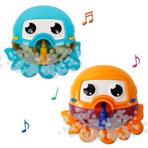버블 문어 목욕놀이 -블루(596)
