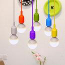 어린이조명/키즈등 /컬러풀1등팬던트(6color)램프별도