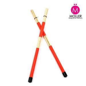 Bamboo 로드 드럼스틱 (레드) 브러쉬스틱