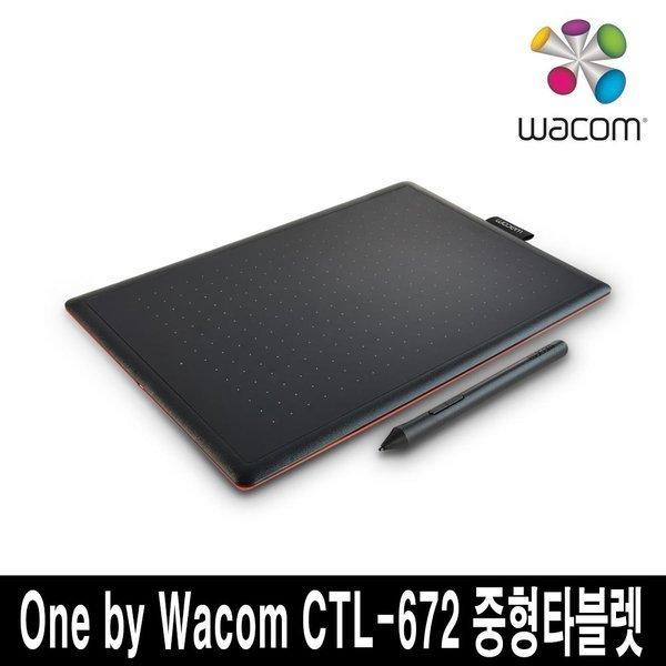 와콤 One by Wacom CTL-672 중형 타블렛;)