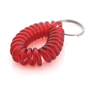 9837 아트사인 열쇠고리 스프링줄(빨강)