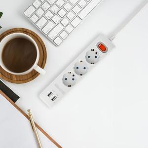 광명전기 SHINE 멀티탭 3구 3M 국내생산 / USB충전