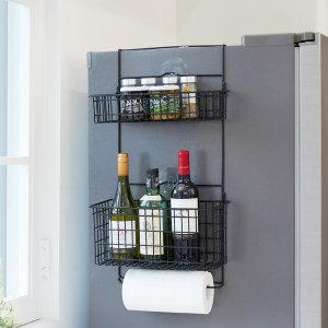 냉장고 걸이형 수납 선반