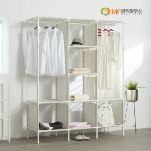 MF무볼트 드레스룸 트리플행거 반이동식 시스템