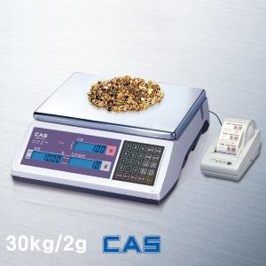 CAS 계수저울 전자저울 EC30/최대30kg 한눈금2g 저울