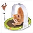 고양이체육관 4가지기능 스크래쳐 깃털 공놀이 등긁게