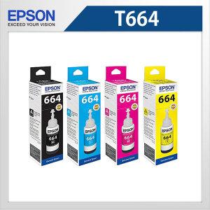 엡손 T664400 노랑 정품잉크 L350 L355 L360 L455