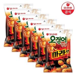 오징어땅콩 마라맛98gx6개