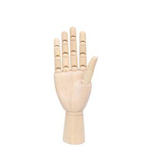 나무관절 손가락목각인형 (25cm) 오른손
