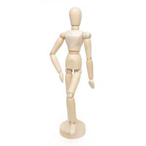 데셍 원목구체관절 나무목각인형 (30.5cm) 여자