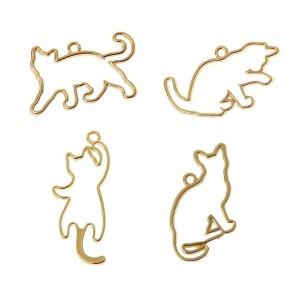 레진공예 프레임 7 고양이 모양 4종 세트 모음 UV레진