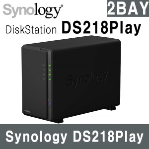 Synology DS218PLAY NAS 2베이 -당일발송-USB 32G 증정