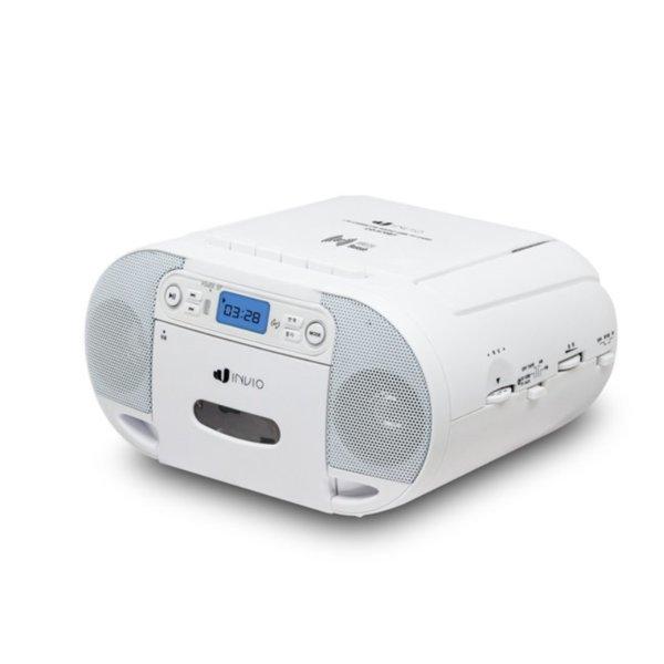 인비오 블루투스 포터블 미니오디오 CD USB 라디오/6n