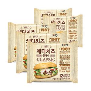 동원 소와나무 체다치즈 클래식 204g x5개 (총60매)