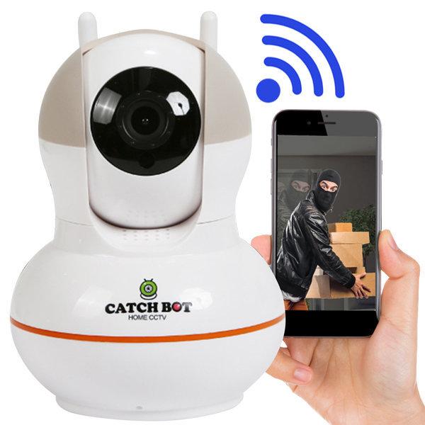 캐치온 CCTV 캐치봇 가정용 cctv 감시 카메라 8GB