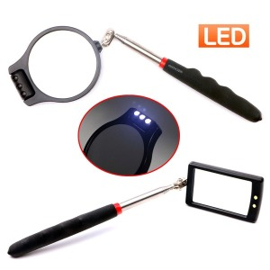 LED 검사거울/용접거울/안테나/라이트/원형/사각 거울