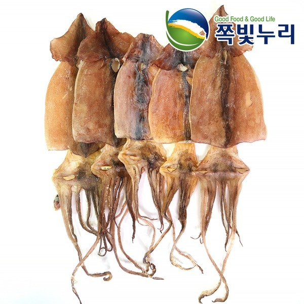 오징어 마른오징어 건오징어 5마리(약200g)