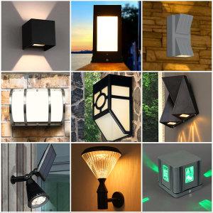 실외등 벽등 야외조명 LED 문주 모음전