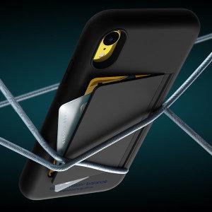아이폰 XR 밸런스 카드 범퍼 하드 케이스