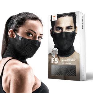 F5 워셔블 필터링 마스크 자외선차단마스크 사계절사용