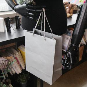 10p 딥컬러 옷가게 집기류 쇼핑백 종이가방 로고인쇄