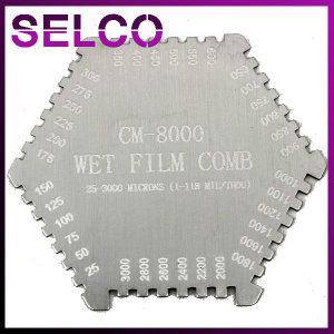 습도막측정기 CM-8000 코팅두께측정 Wet Film Comb