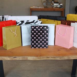 10p묶음 딥컬러 옷가게집기 쇼핑백 로고인쇄 종이가방