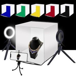 PULUZ 30cm LED 촬영조명 미니스튜디오 패키지