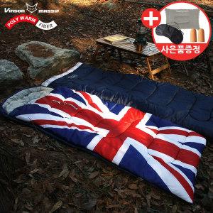 유니언잭침낭-북유럽 영국국기 감성 사계절 동계 침낭
