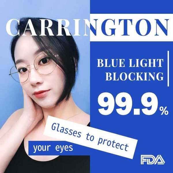 블루라이트 차단 안경 캐링턴 청광 전자파