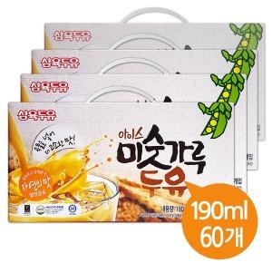 고소한 미숫가루 두유 190ml (아이스) 60팩
