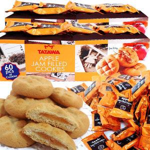 타타와 사과잼 애플 쿠키 2박스(120봉)