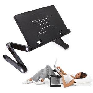 나마네X1 3단관절 각도높이조절 노트북 거치대 받침대