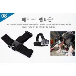G-GOON 액션캠 악세사리 헤드 스트랩 마운트 호환성