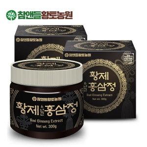 황토농원  황제 6년근홍삼정 300g 2병+쇼핑백1개