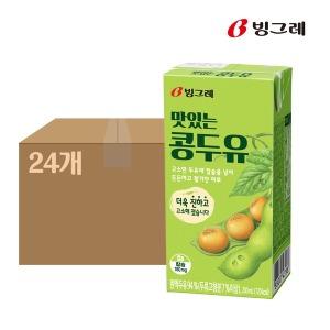 맛있는 콩두유 200mlx24팩 1박스 멸균두유 상온두유 - 상품 이미지