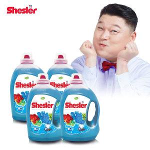 강호동의 쉬슬러 고농축 세탁세제 (3.05L 4개)