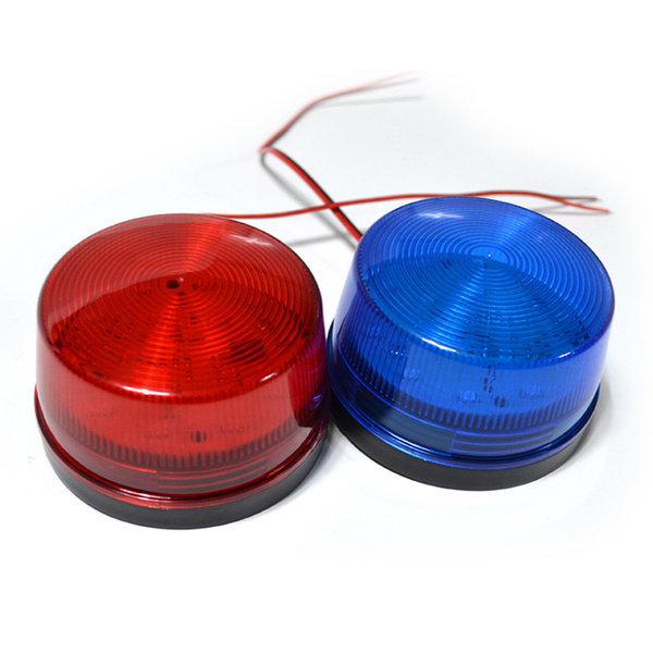 (케미칼멘토) LED 15발 12V 경광등  레드/블루/옐로우